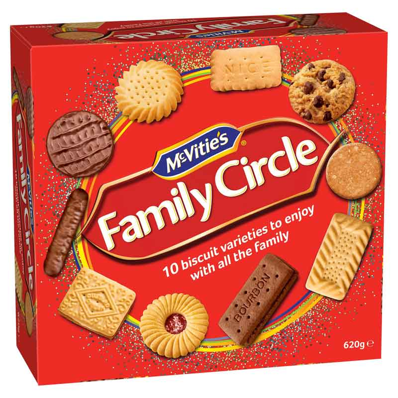 Family Circle Assorted Biscuits (700g)
