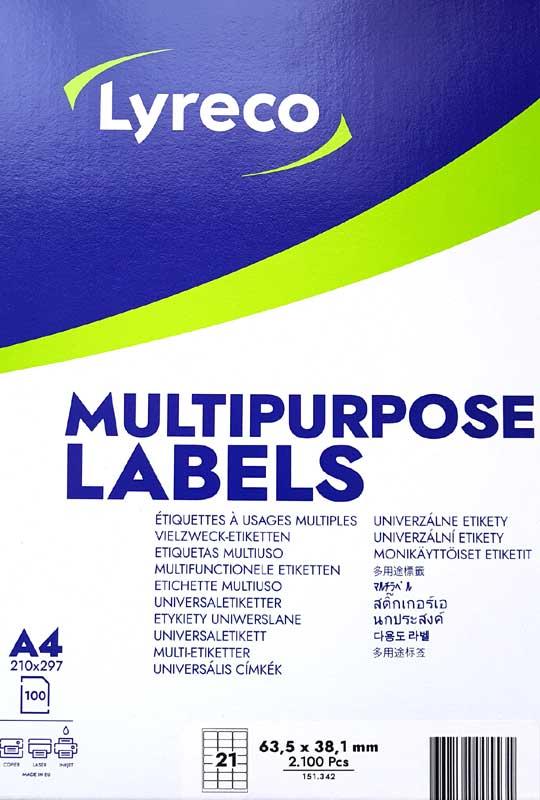 Food Label 21mmxl70mmx36mm (50 A4)