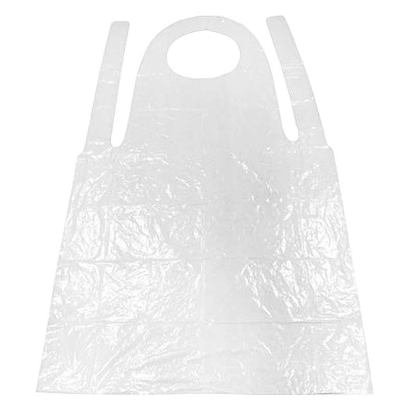 Disposable 27×42″ White Aprons (100)