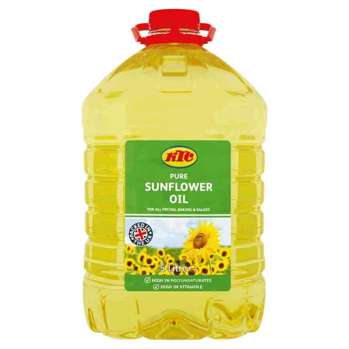 Sunflower Oil – plastic bottle (5L)