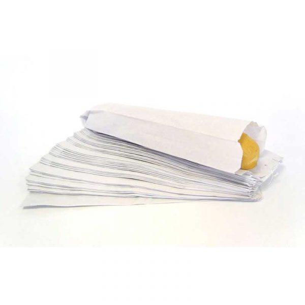 Small White Baguette Bag (1000)