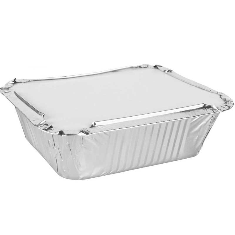 Single Aluminium Box & Lid 11cm D x 8cm H x 5cm W (25)