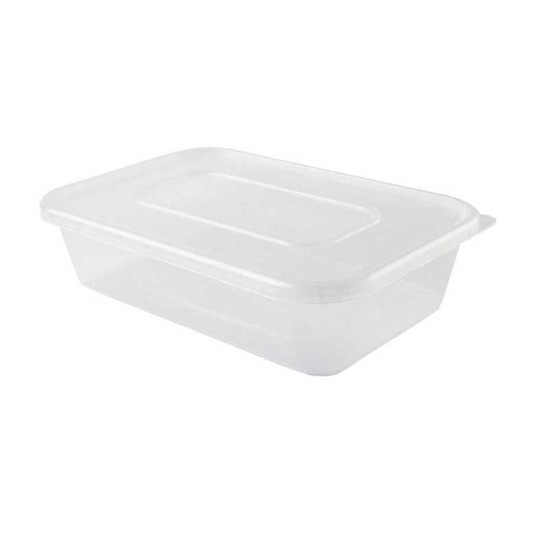 Medium Microwave Box & Lid 12cm D x 17cm H x 5cm W (250)