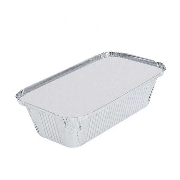 Double  Aluminium Box & Lid 16cm D x 7cm H x 6cm W (25)