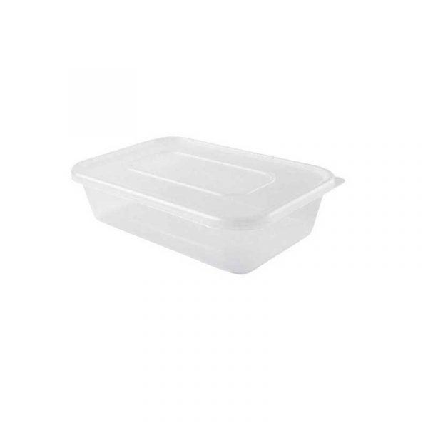 Small Microwave Box & Lid 12cm D x 17cm H x 3.5cm W  (250)