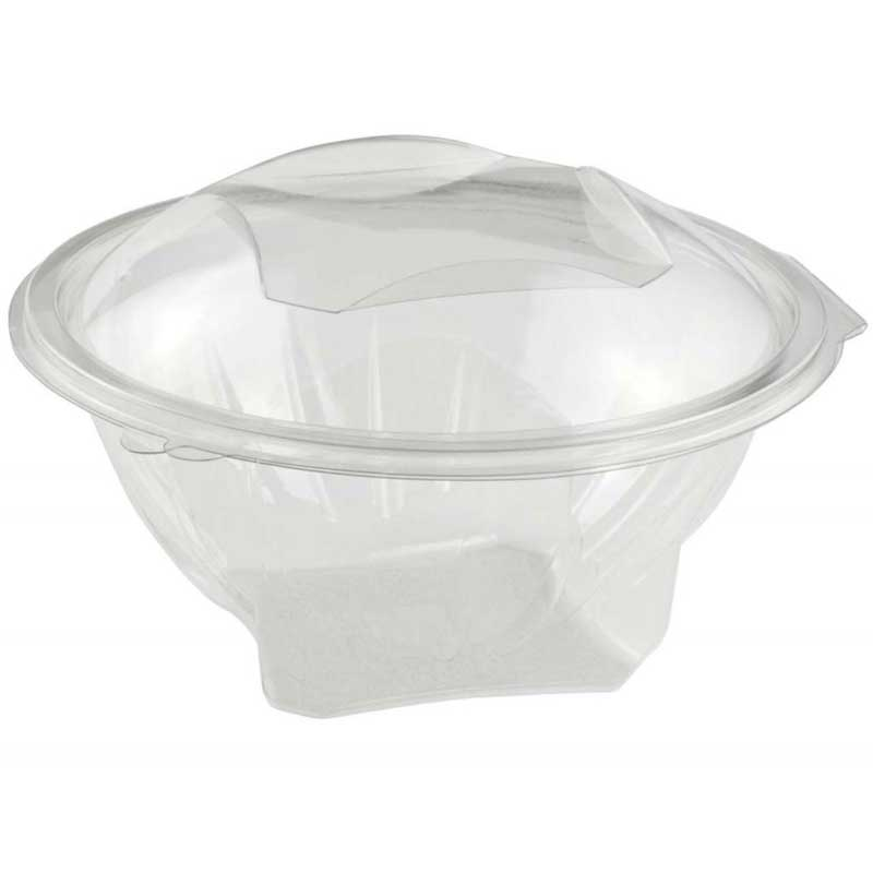 Salad Box – round with square base (230)
