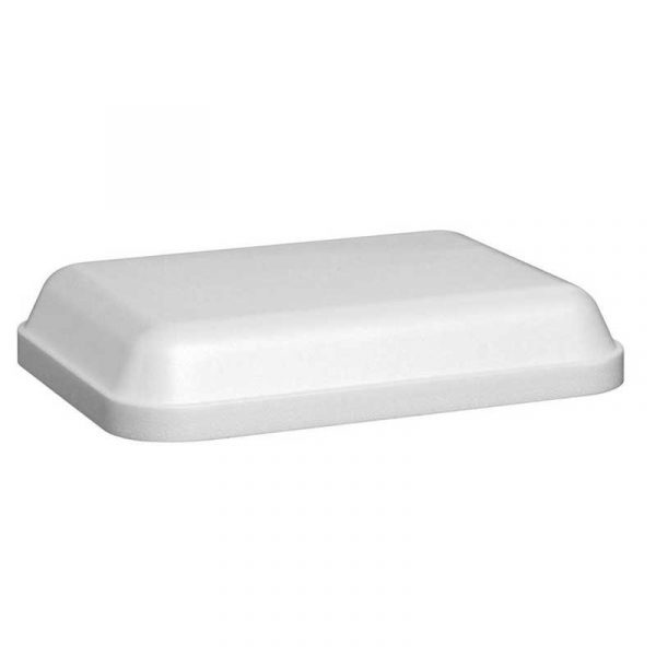 Insulated White Polystyrene Food Box with Lid LFD26 (200)