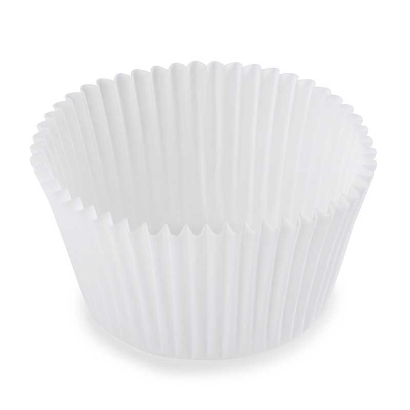 White Muffin Cases (250)