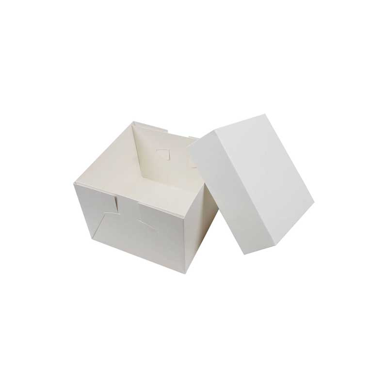 6″x6″ x4″H Cake Box (250)