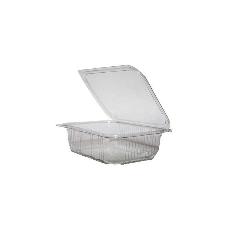 Clear Box Hinged Lid 375ml (500)