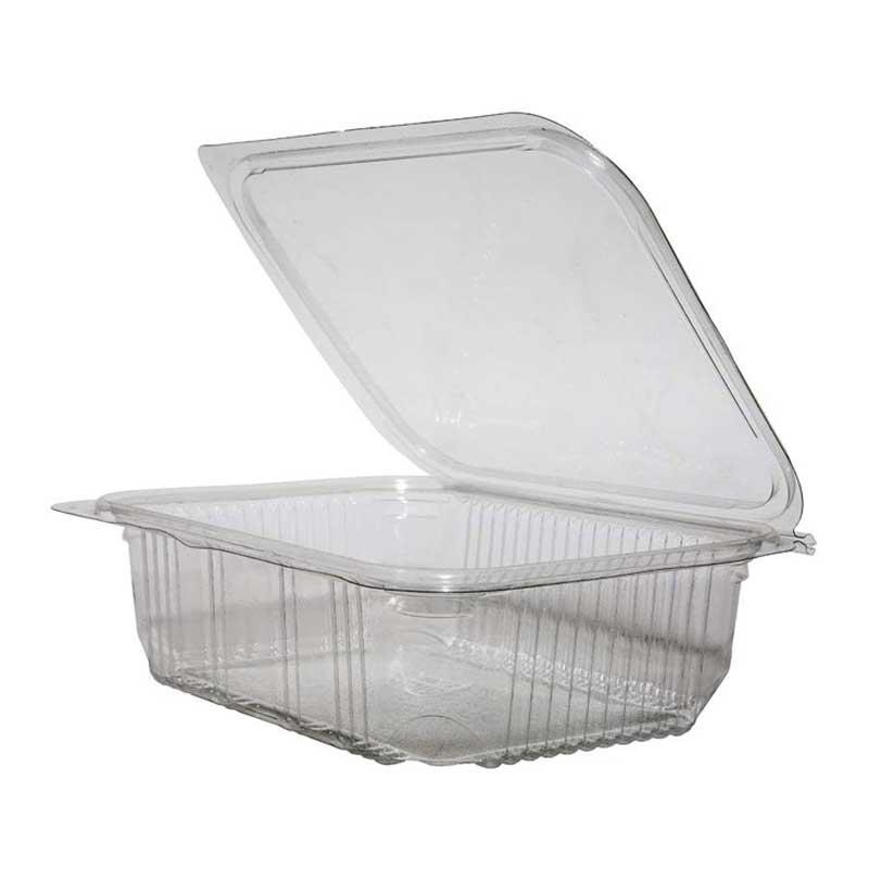 Clear Box Hinged Lid 1500ml (200)