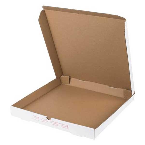 12″ Plain White Pizza Box (100)