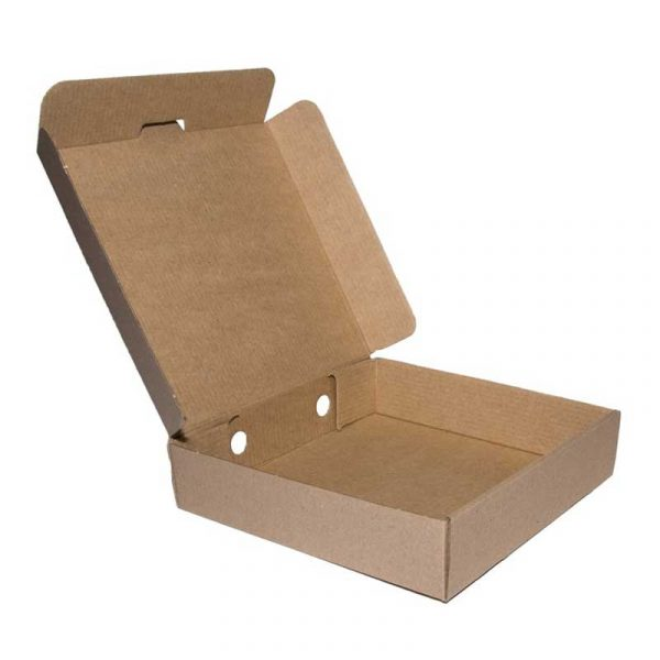 16″ Plain Brown  Pizza Box (50)