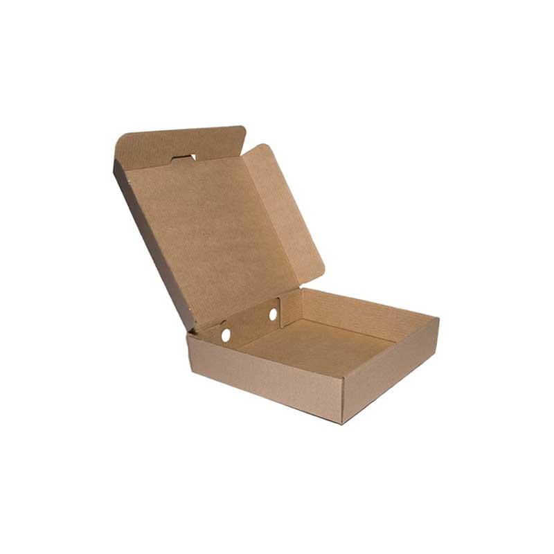 9″ Plain Brown Pizza Box (100)