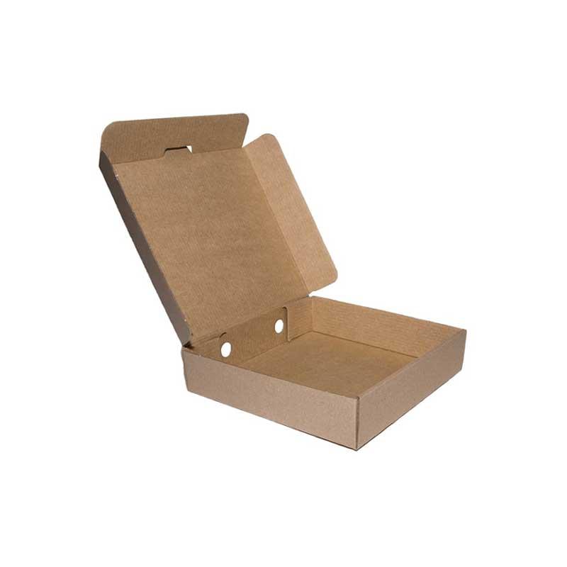 10″ Plain Brown Pizza Box (100)