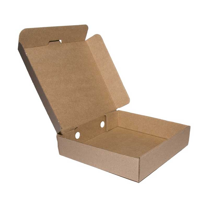 14″ Plain Brown Pizza Box (50)