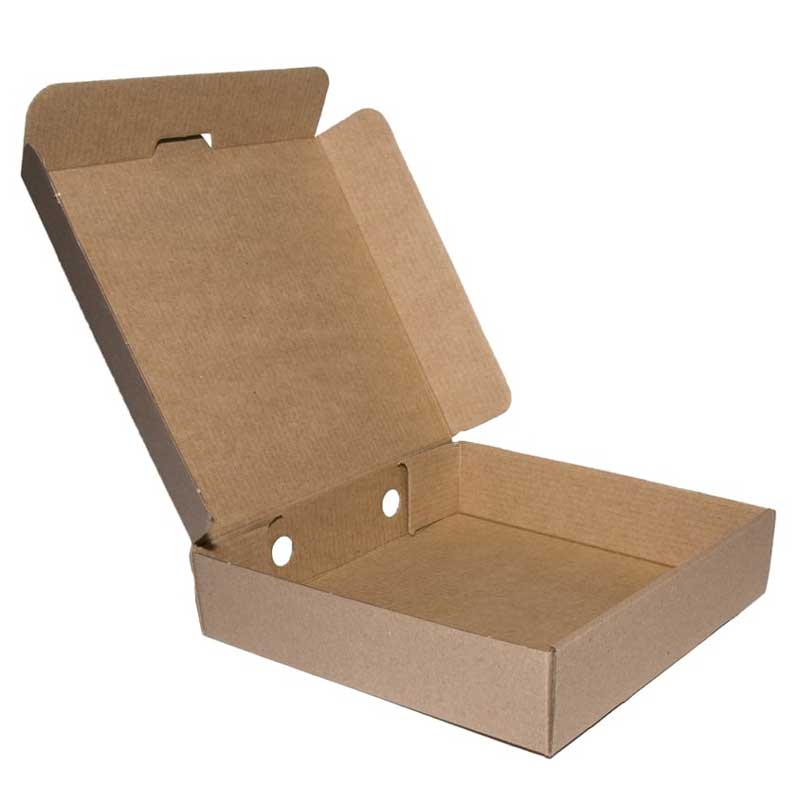 18″ Plain Brown Pizza Box (50)