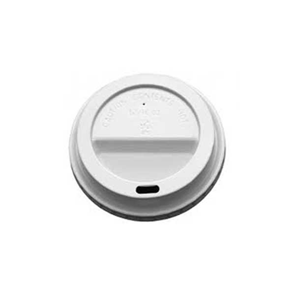 White Sip Lid for Paper 3-4oz Cup (100)