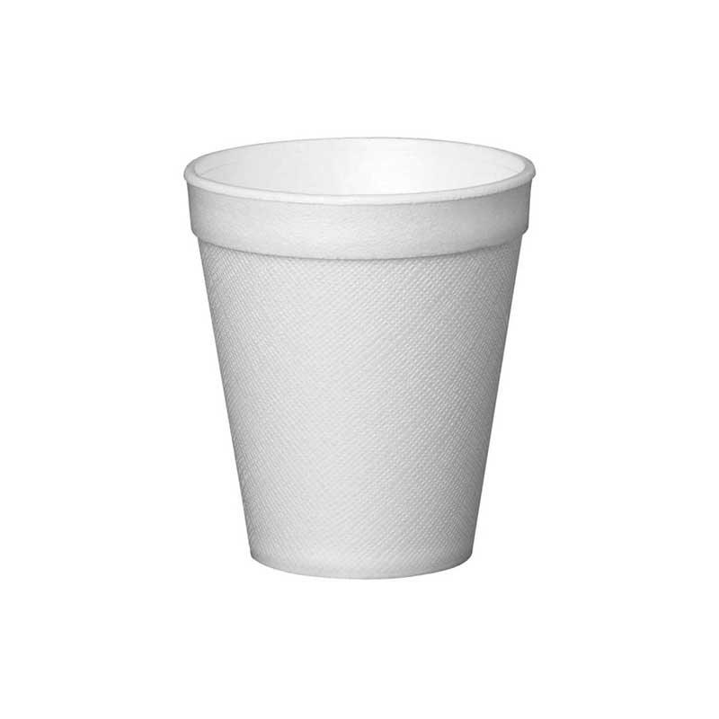 10oz White Solo Polystyrene Cup (1000)