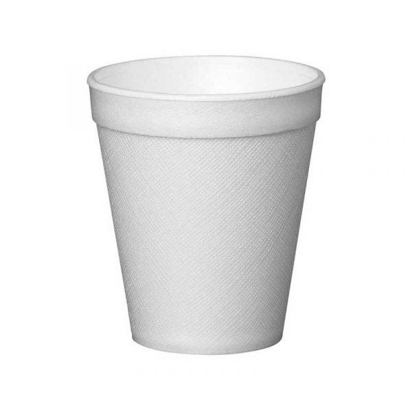 12oz Plain White Solo Polystyrene Cup (1000)