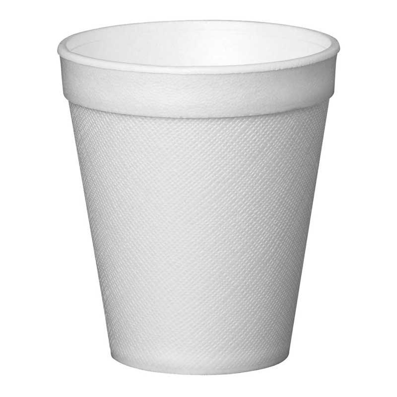 16oz White Solo Polystyrene Cup (1000)