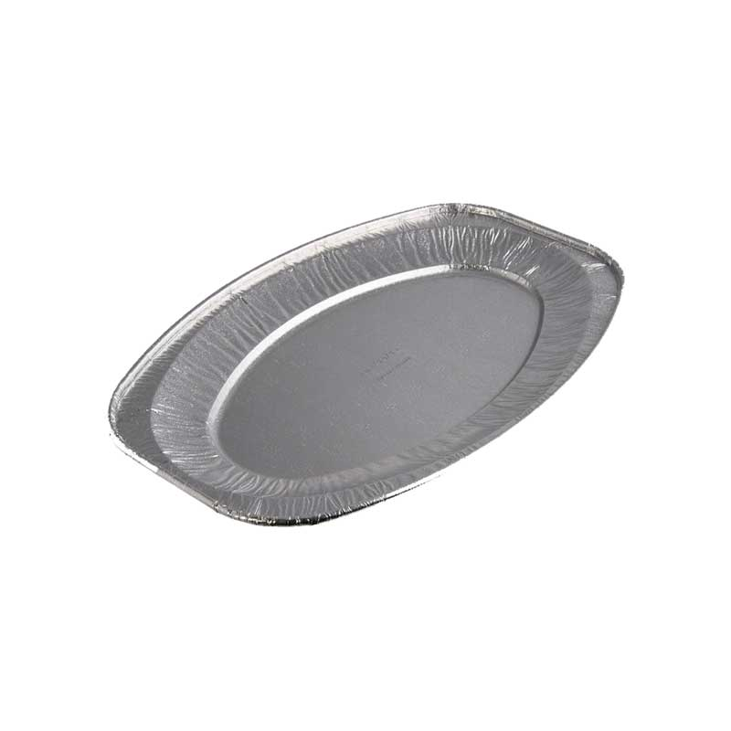 Medium Aluminium Oval Tray 43cm (10)