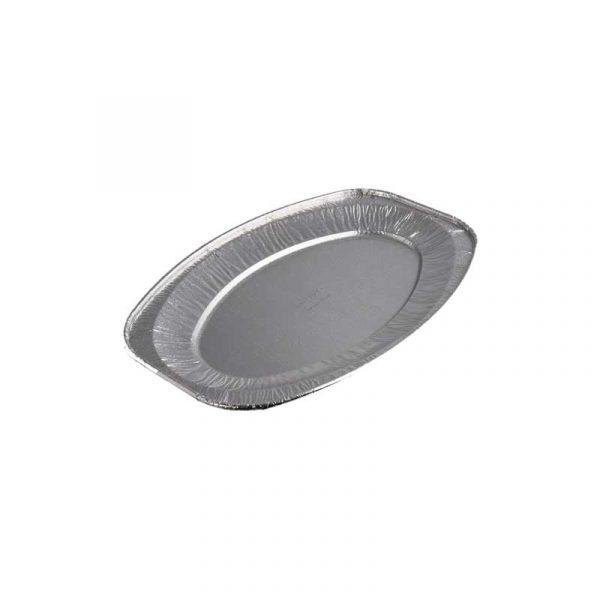 Small Aluminium Oval Tray 35cm (10)