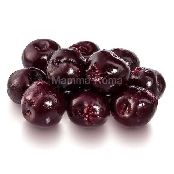 Black Cherries – stone out – canned (1Kg)