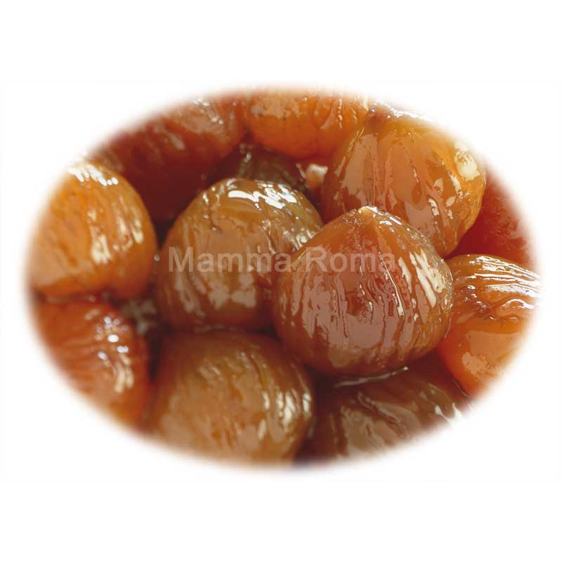 Whole Chestnuts in Syrup – canned (1Kg)