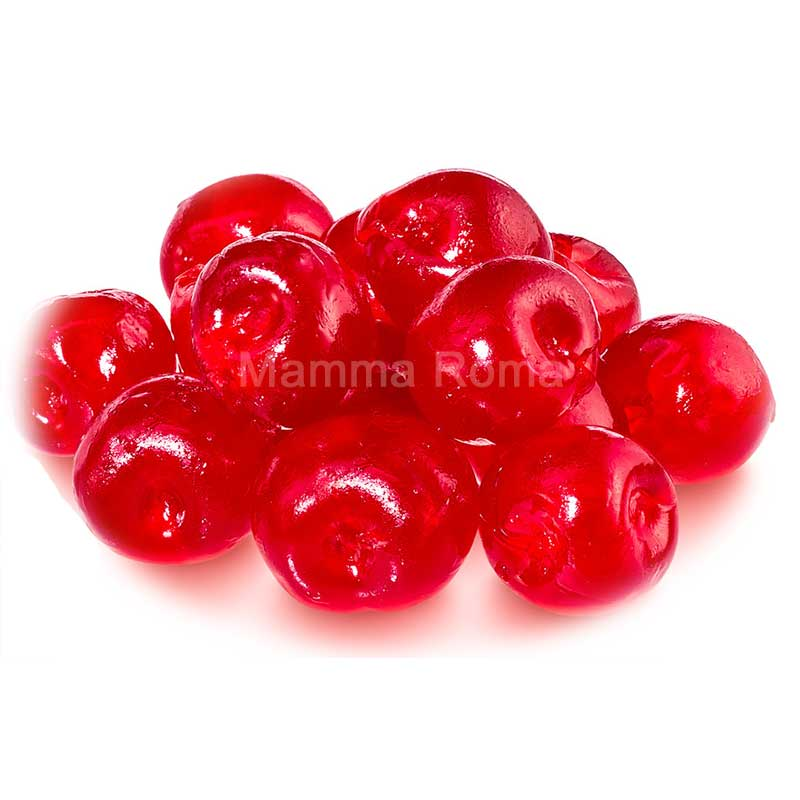 Red Glace Cherries 18-20mm – tub (1Kg)