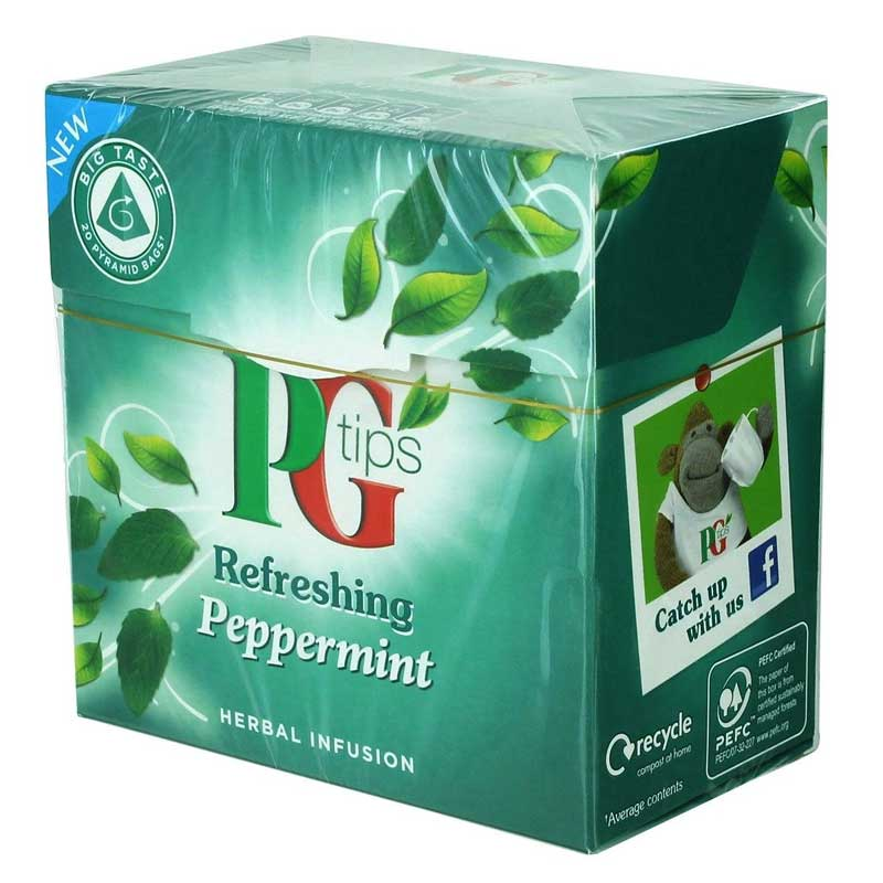 PG Tips Peppermint Tea Bags (20)