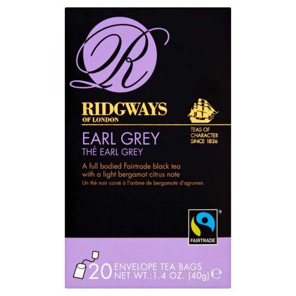Ridgeways Earl Grey Tea Bags  (20)