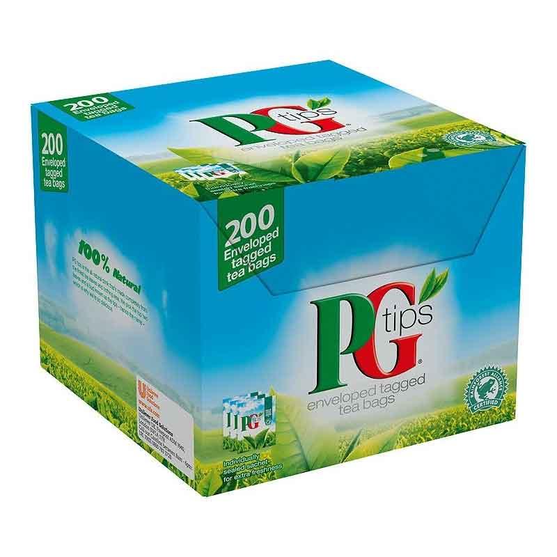 PG Tips Envelope Tea Bags (200)