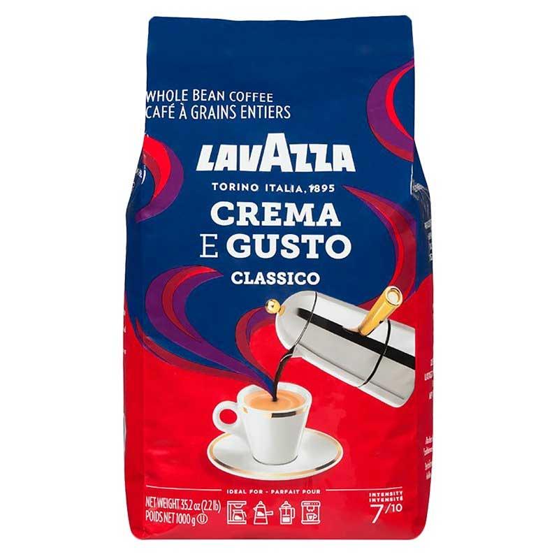 Lavazza Crema Gusto Coffee Beans (1Kg)