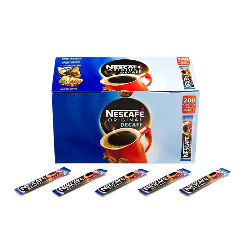 Nescafe Decaffeinated Coffee Sticks (200)