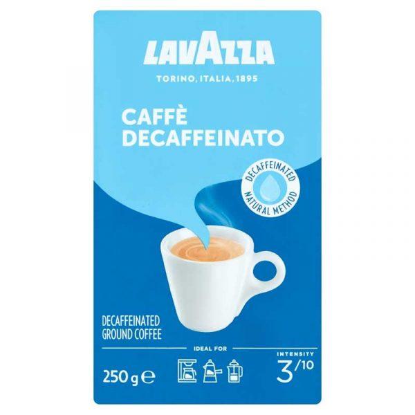 Lavazza Decaffeinated Ground Coffee (250g)