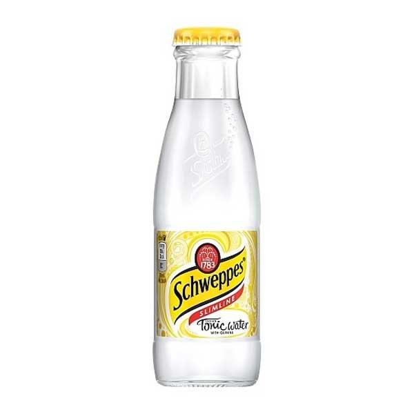Schweppes Slimline Tonic – baby glass bottle (24x125ml)