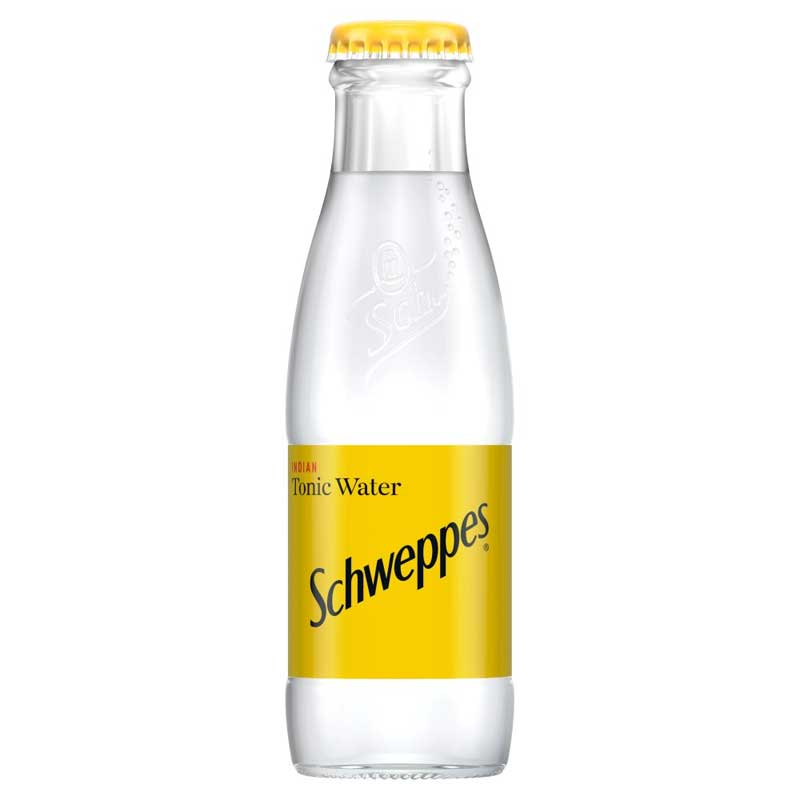 Schweppes Tonic Water – baby glass bottle (24x125ml)