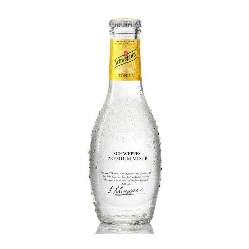 Schweppes Tonic Water – glass bottle (24x20cl)