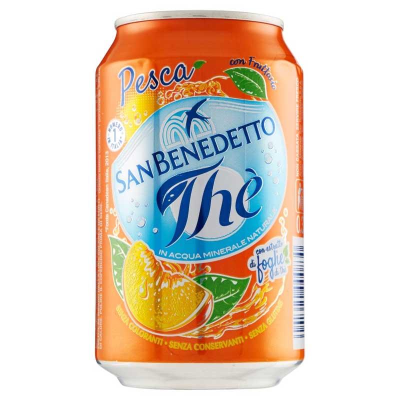 San Benedetto Peach Tea (24x33cl)