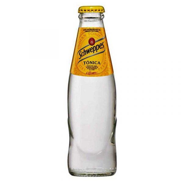 Schweppes Slimline Tonic Water – glass bottle (24x20cl)