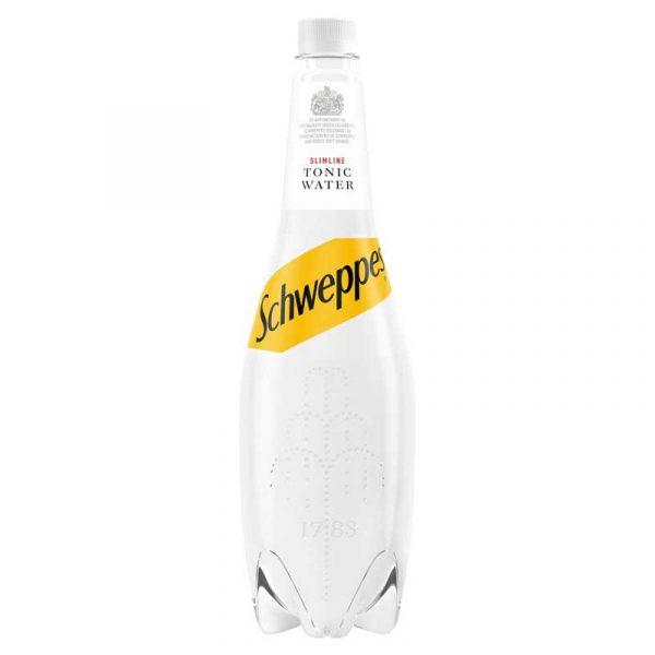 Schweppes Slimline Tonic Water (12x1L)
