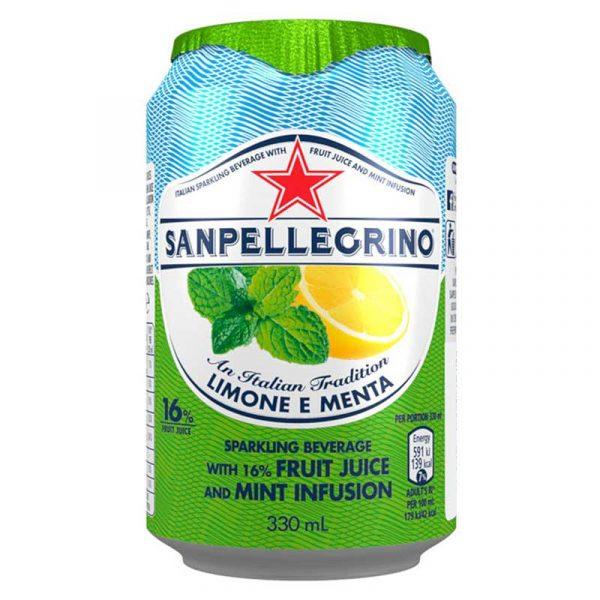 San Pellegrino Lemon & Mint (24x33cl)