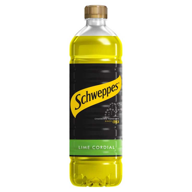 Schweppes Lime Juice Cordial (1L)