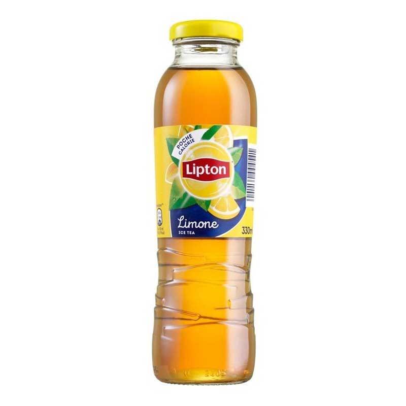 Lipton Lemon Tea – glass bottle (12x33cl)