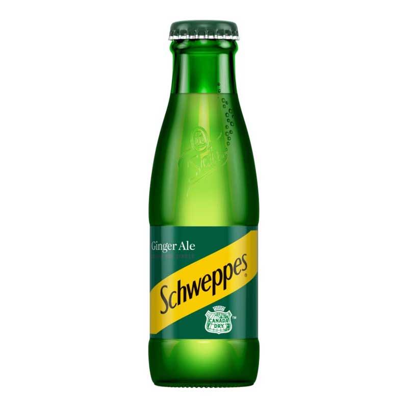 Schweppes Ginger Ale – baby glass bottle (24x125ml)