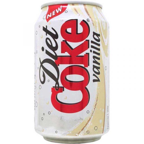 Vanilla Diet Coke (24x33cl)