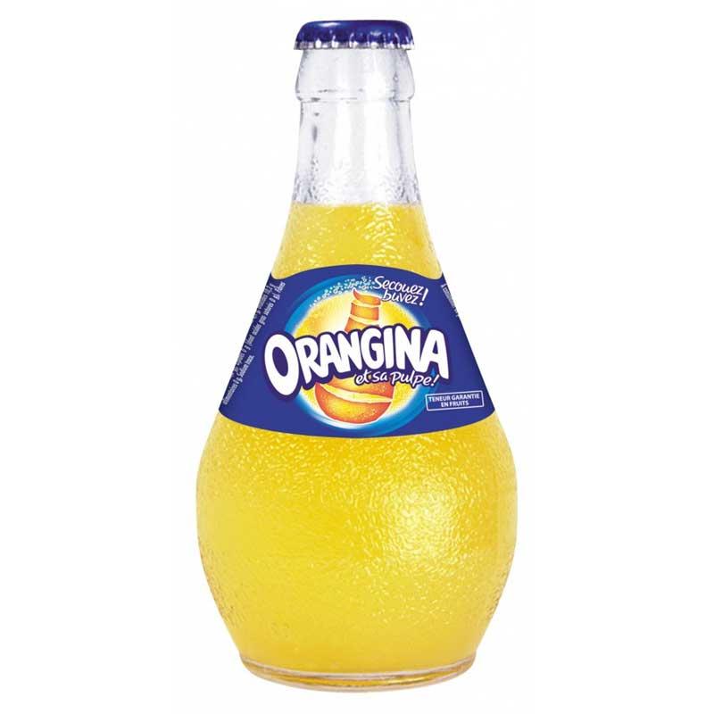 Orangina – glass bottle (12x25cl)