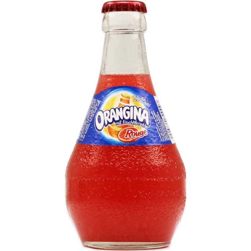 Orangina Rouge – glass bottle (12x33cl)