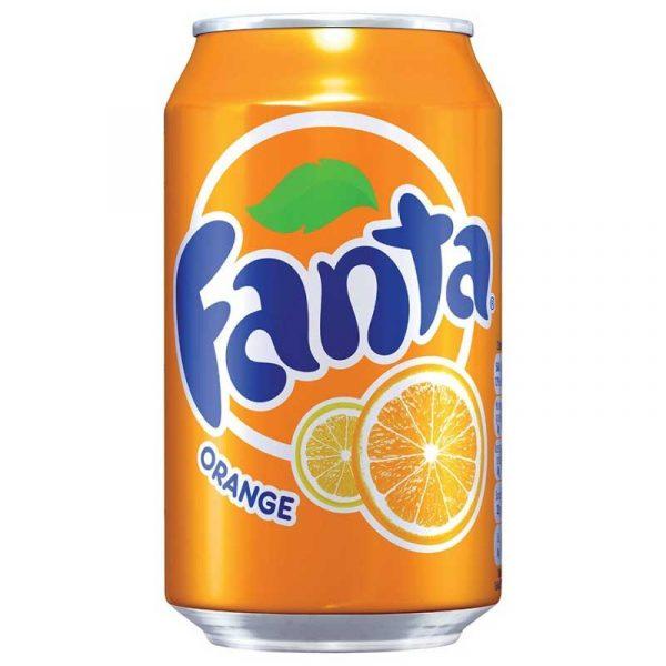 Fanta Orange (24x33cl)